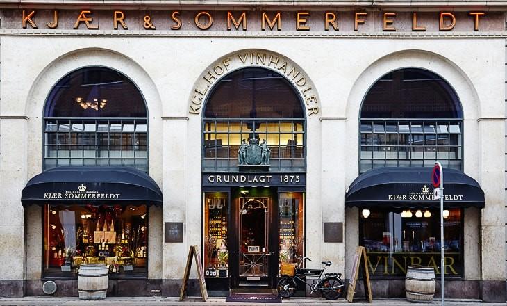 Kjær & Sommerfeldt, facaden på Gl. Mønt Facade