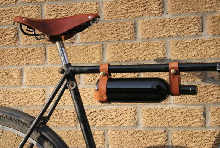 vin på cykel