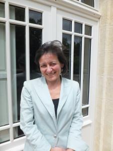 """""""Det, der er interessant, er transformationen af druer til vin"""", fortæller Marie-Laure Lurton."""