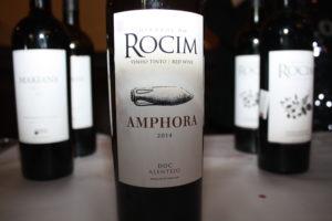 3286 Vin lagret på amfora fra Herdade do Rocim.