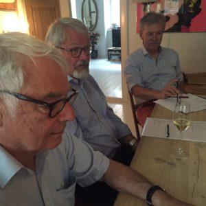 Fra venstre: Jørn Lund, Svend Aage Hansen og Valdmar Smith.