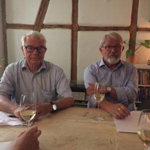 Jørn Lund og Svend Aage Hansen