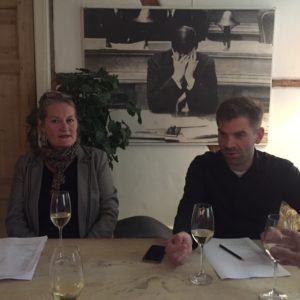 Maria Grønlykke og Morten Brink Iwersen