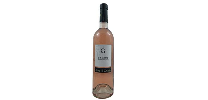 Les Vignobles Gueissard, Bandol, Rosé, Mouvedre, Grenache, Cinsault, 2015, Frankrig
