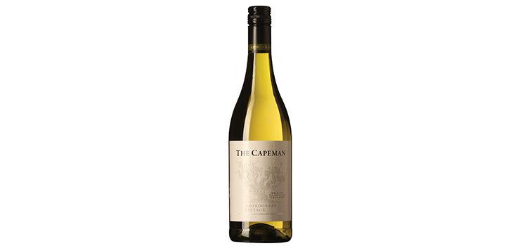 The Capeman, Western Cape, Chardonnay, 2016, Sydafrika